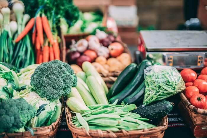 ロングファスティングにふさわしい野菜の写真です。